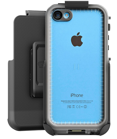 iphone 5c cases lifeproof belt clip holster for lifeproof fre nuud iphone 5c or 5s 14649