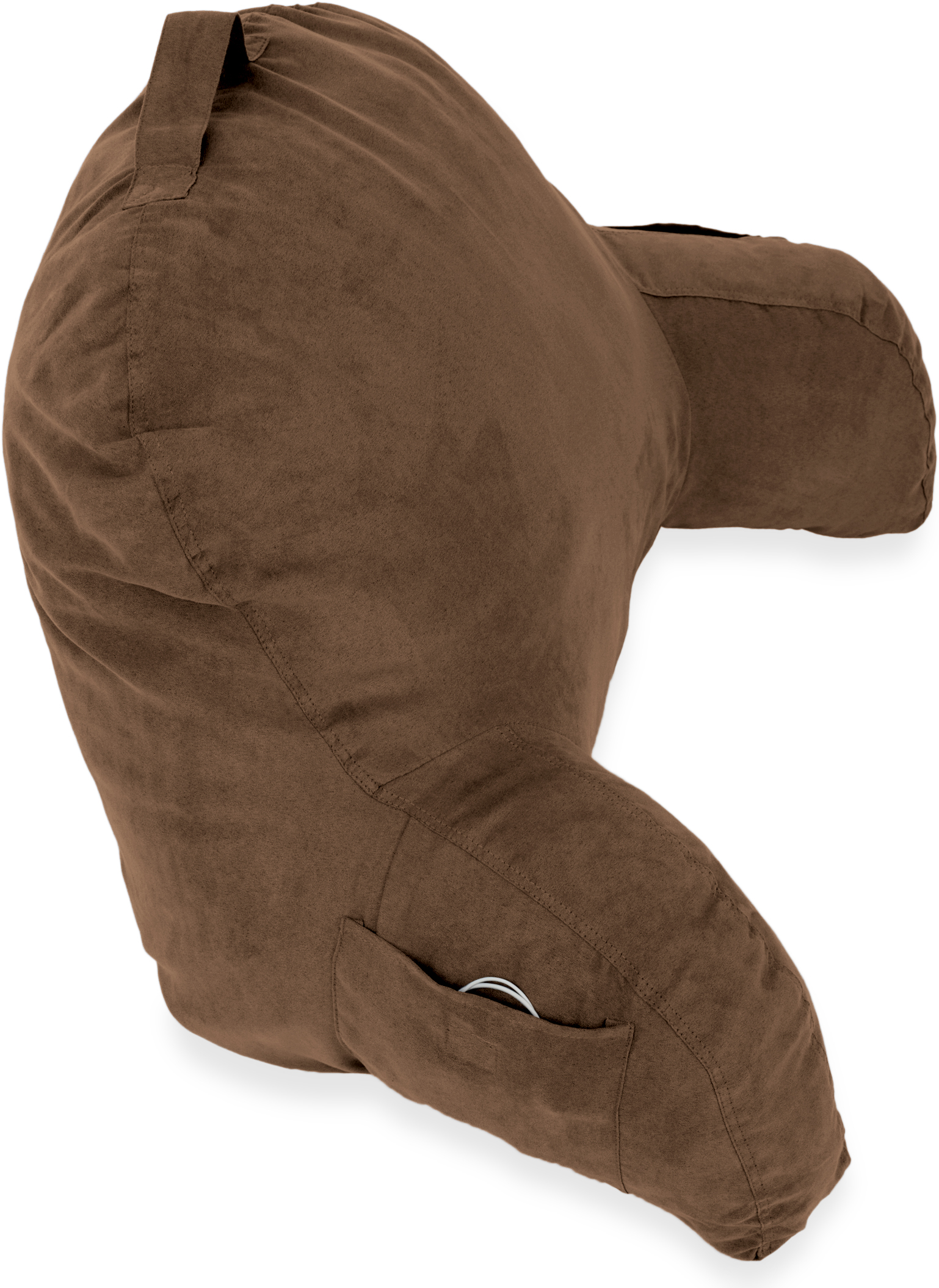 Microsuede-Bed-Rest-Reading-and-Bed-Rest-Lounger-Bed-Pillow thumbnail 7