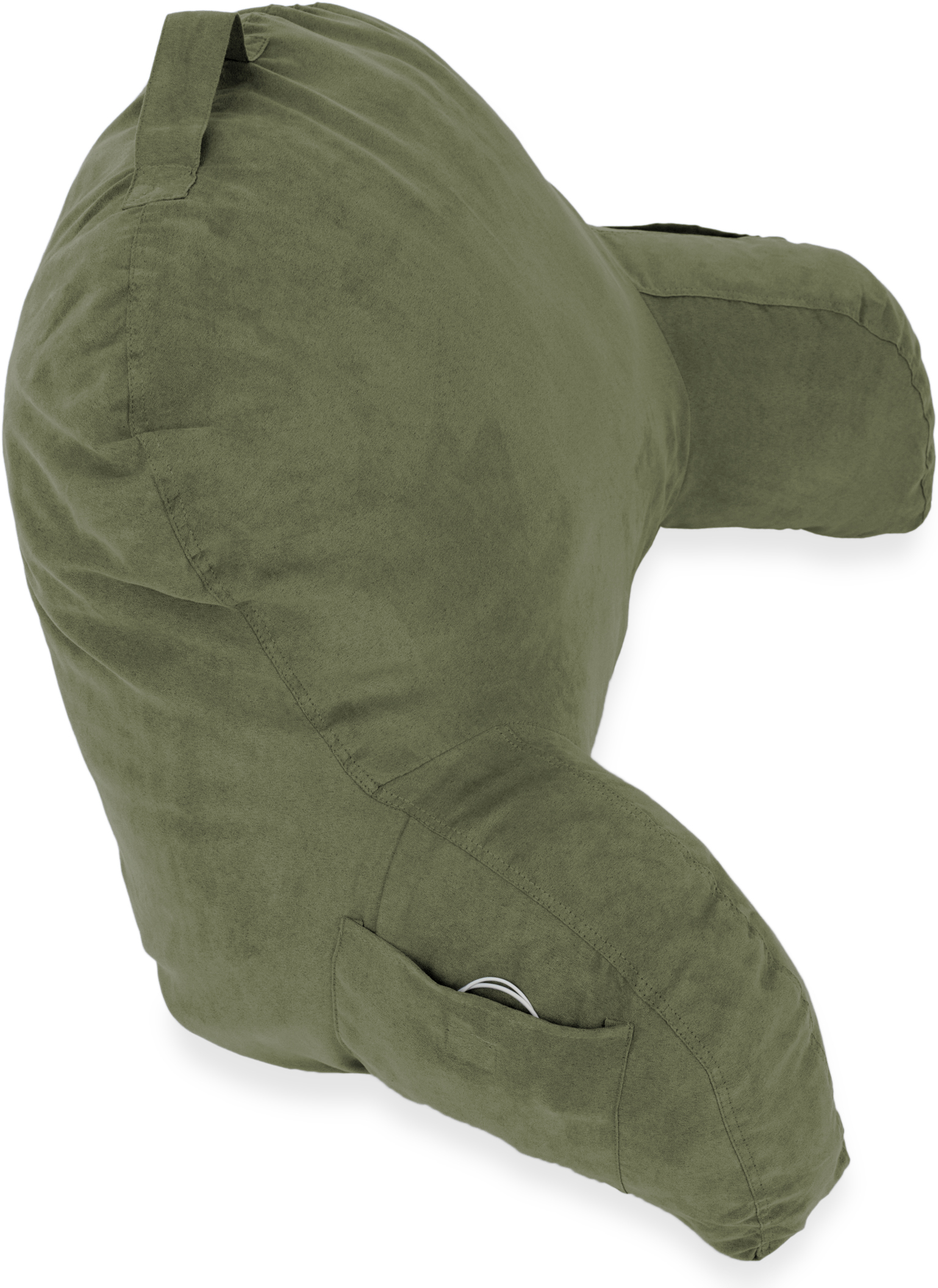 Microsuede-Bed-Rest-Reading-and-Bed-Rest-Lounger-Bed-Pillow thumbnail 18