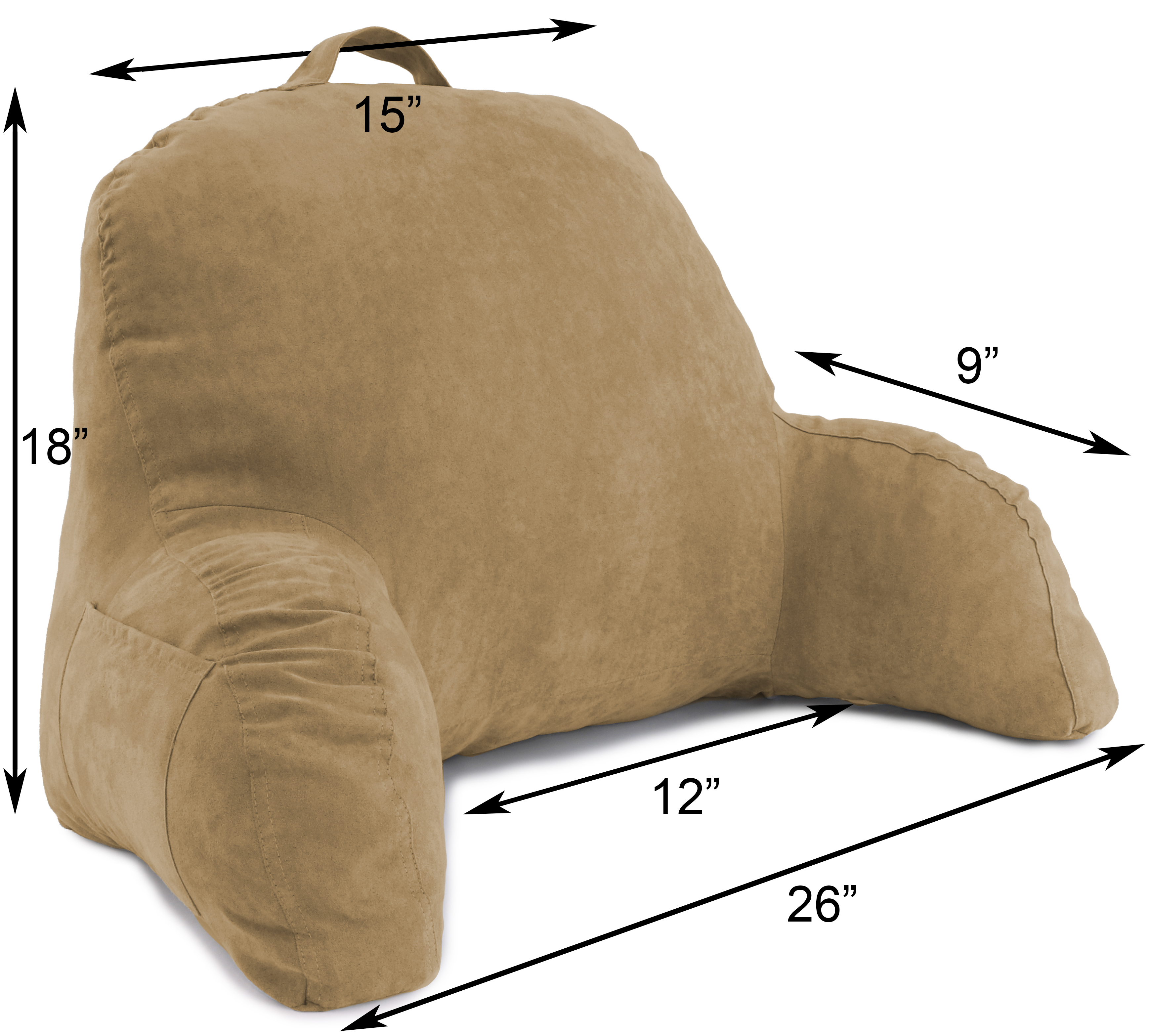 Microsuede-Bed-Rest-Reading-and-Bed-Rest-Lounger-Bed-Pillow thumbnail 46
