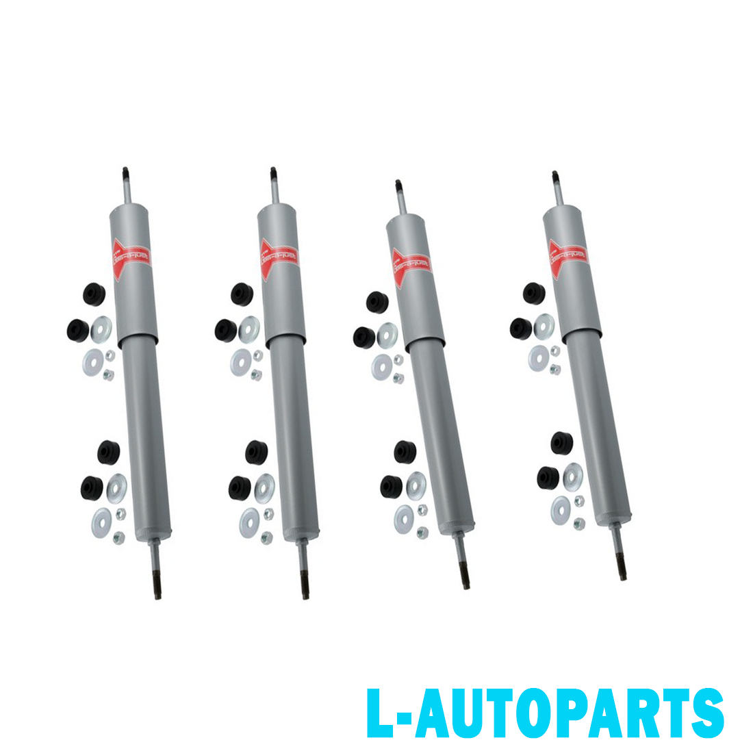 Pair Set of 2 Rear Gas-a-just KYB Suspen Shock Absorbers Ford Escape 2013-2017