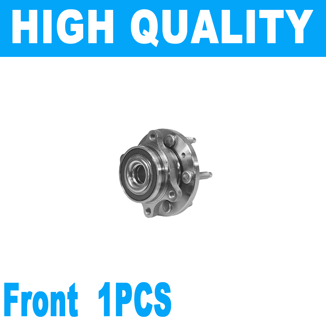 One Bearing Included with Two Years Warranty Note: FWD 4-Wheel ABS 2004 fits Ford Freestar Rear Right Wheel Bearing and Hub Assembly