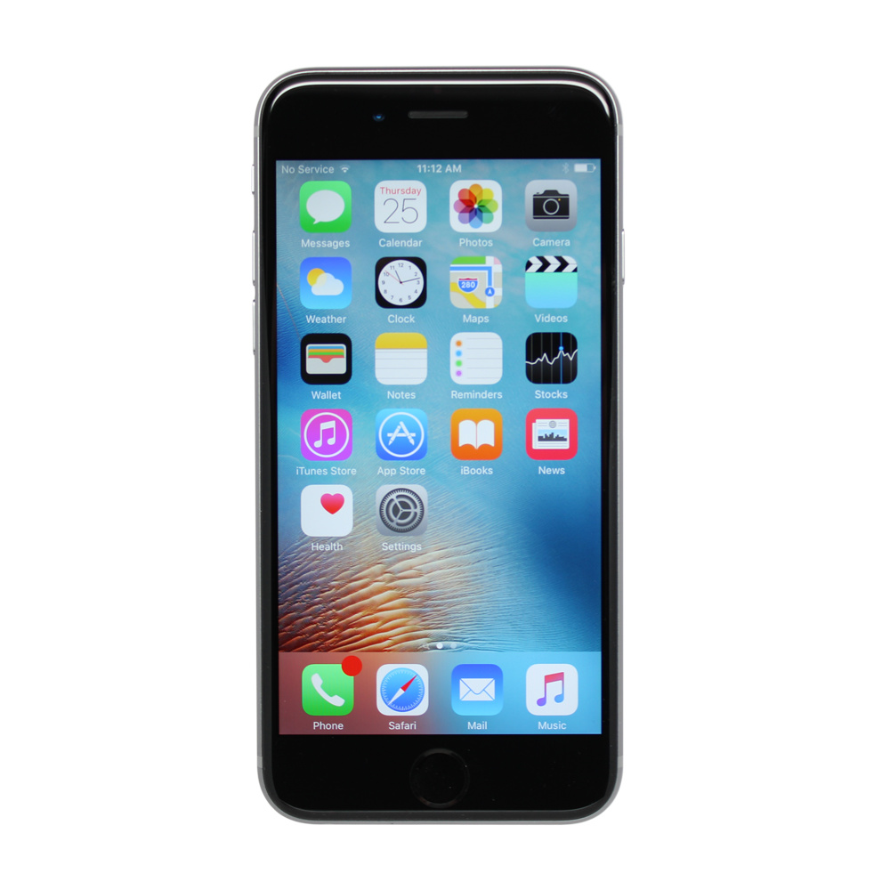 apple iphone 6s 16gb space grey unlocked smartphone. Black Bedroom Furniture Sets. Home Design Ideas