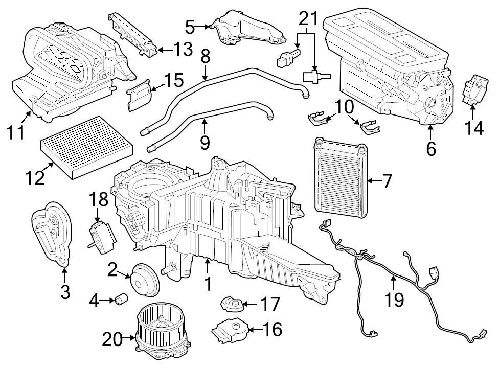 Ford Heater Hose Diagram
