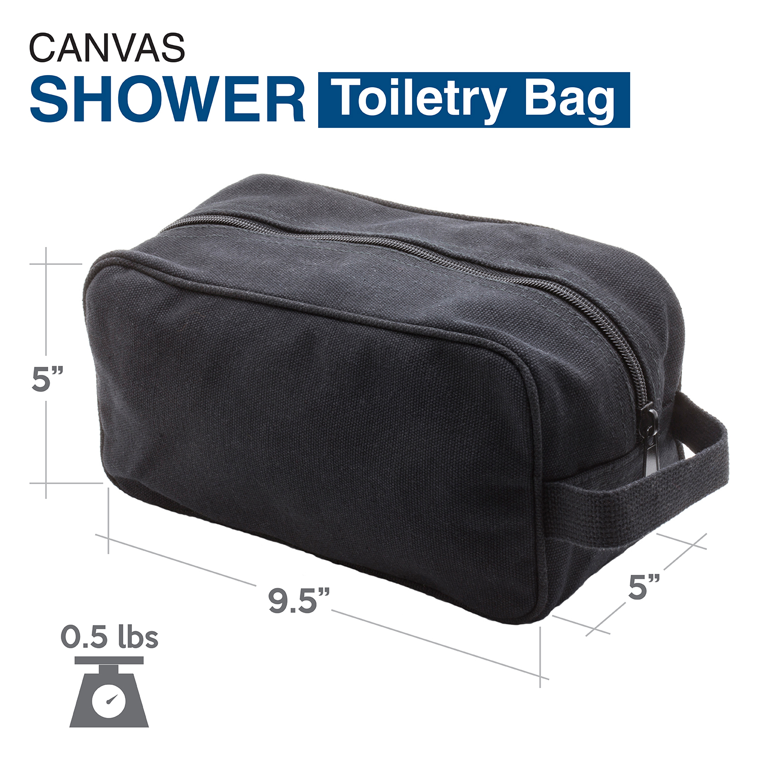 Ruger-Firearms-Canvas-Shower-Kit-Travel-Toiletry-Bag-Case thumbnail 3