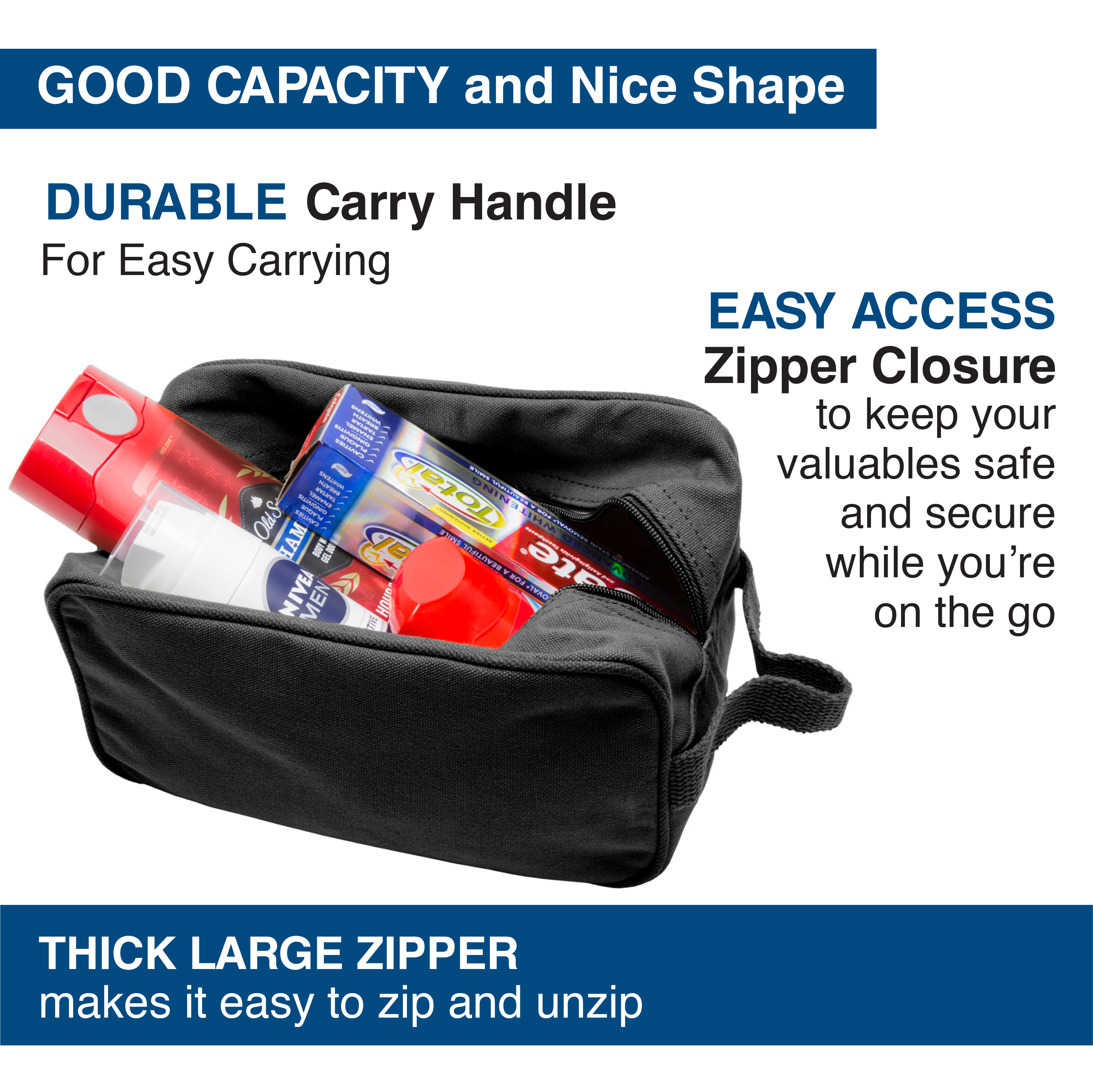 Ruger-Firearms-Canvas-Shower-Kit-Travel-Toiletry-Bag-Case thumbnail 4