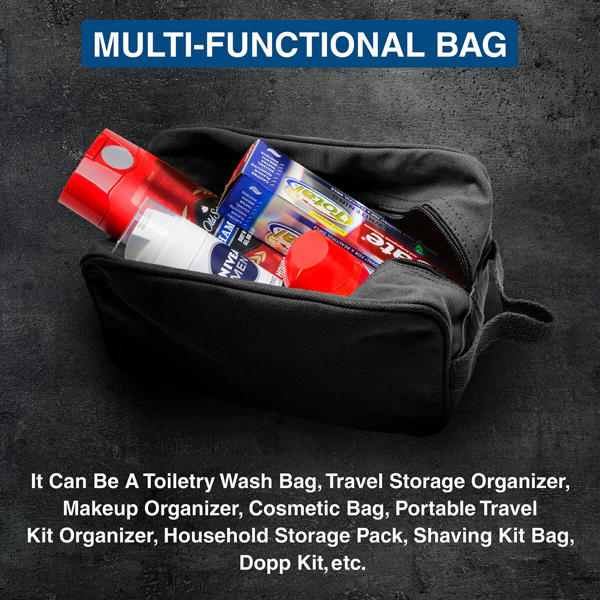 Ruger-Firearms-Canvas-Shower-Kit-Travel-Toiletry-Bag-Case thumbnail 9