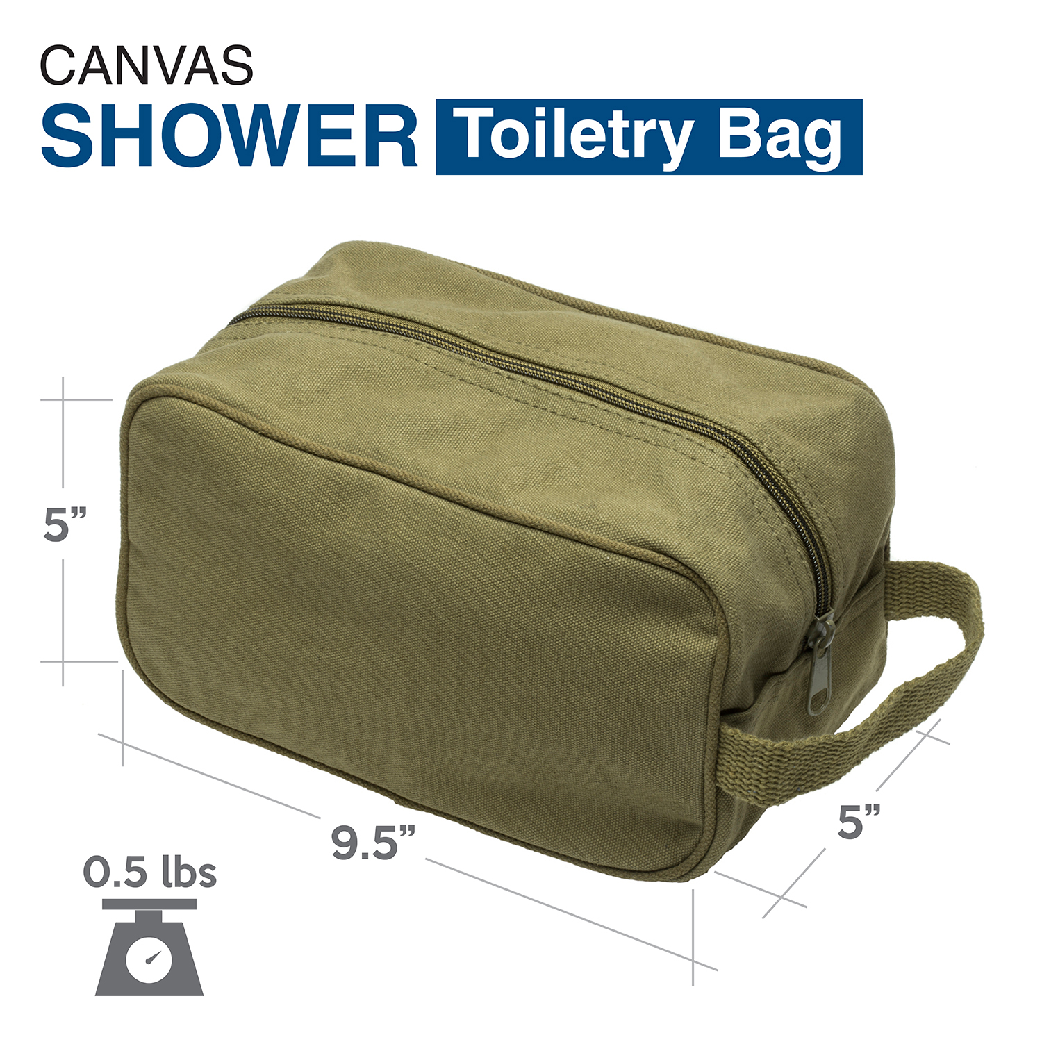 Ruger-Firearms-Canvas-Shower-Kit-Travel-Toiletry-Bag-Case thumbnail 11