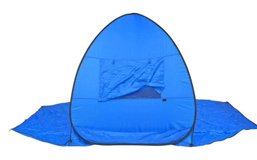 Instant-Pop-up-Family-Beach-Tent-Cabana-Shade-and-Sun-Shelter-UPF-55 thumbnail 12