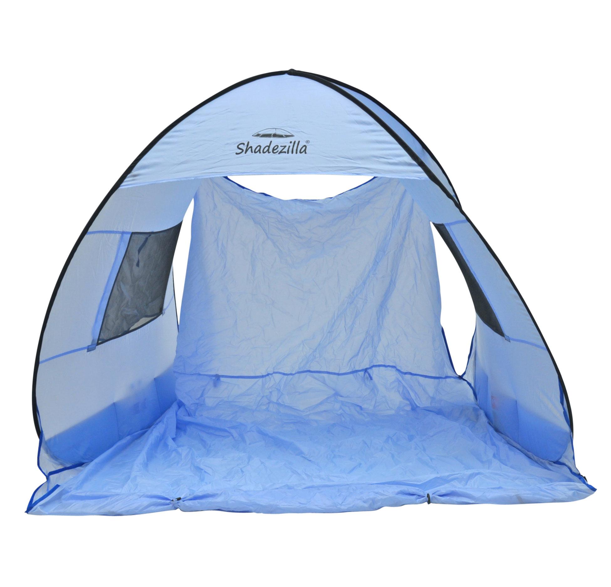 Instant-Pop-up-Family-Beach-Tent-Cabana-Shade-and-Sun-Shelter-UPF-55 thumbnail 6