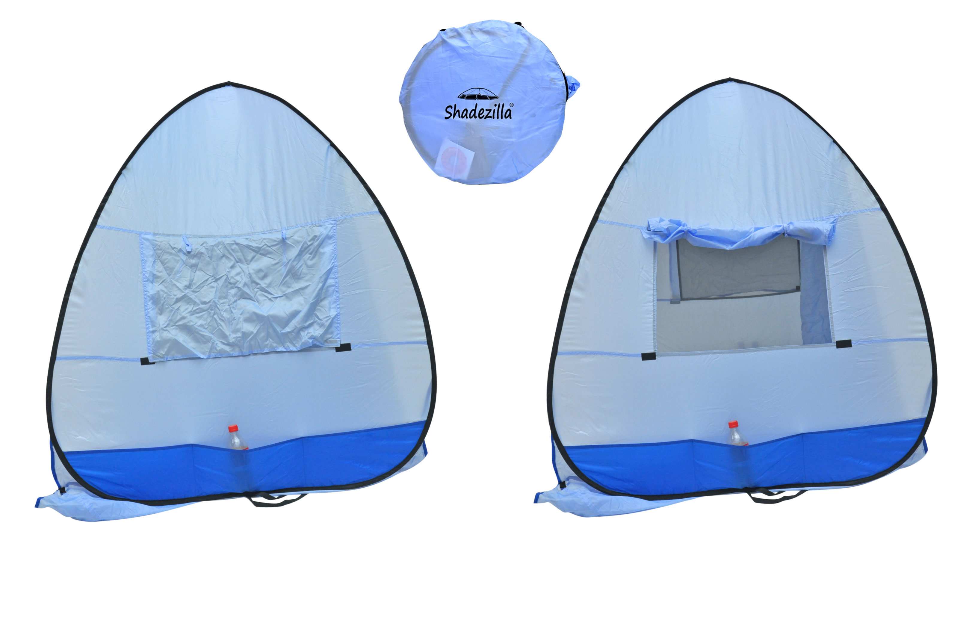 Instant-Pop-up-Family-Beach-Tent-Cabana-Shade-and-Sun-Shelter-UPF-55 thumbnail 7