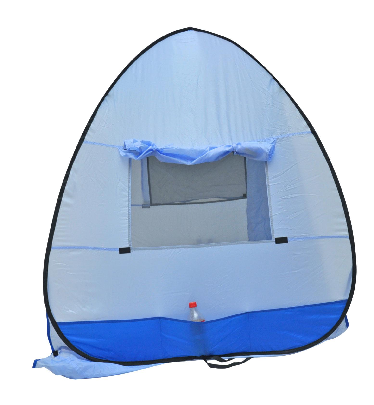 Instant-Pop-up-Family-Beach-Tent-Cabana-Shade-and-Sun-Shelter-UPF-55 thumbnail 8