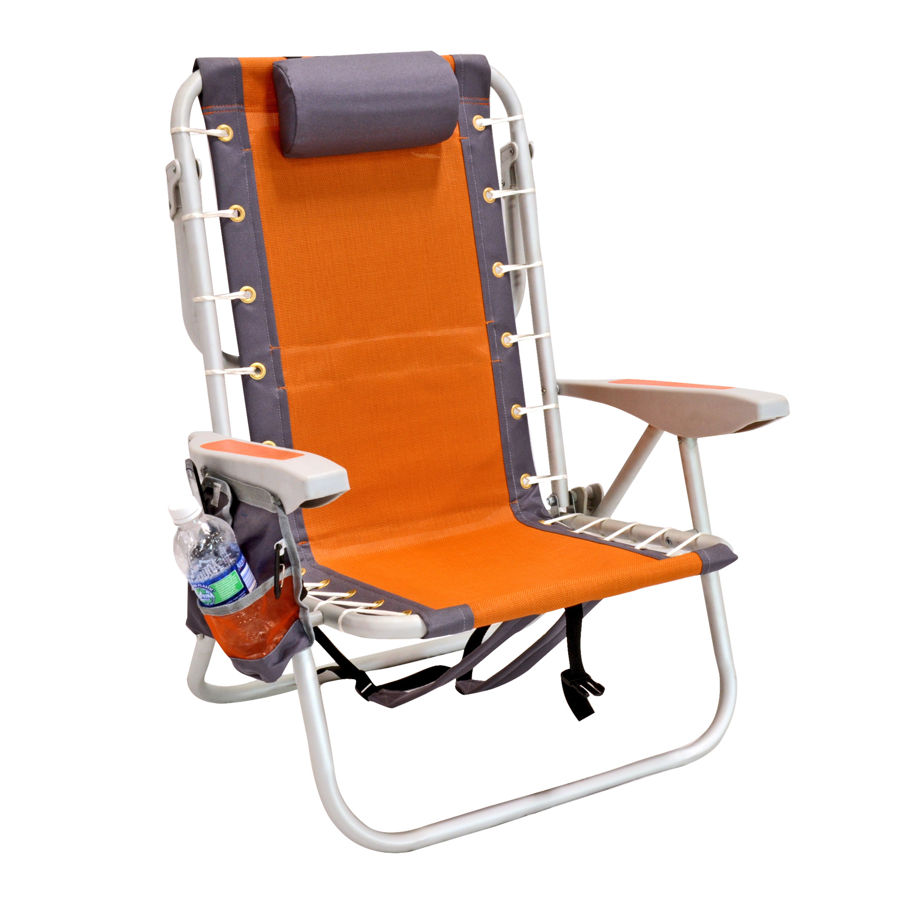 Rio 5 POS Layflat Ultimate Backpack Beach Chair W Cooler WRB5360