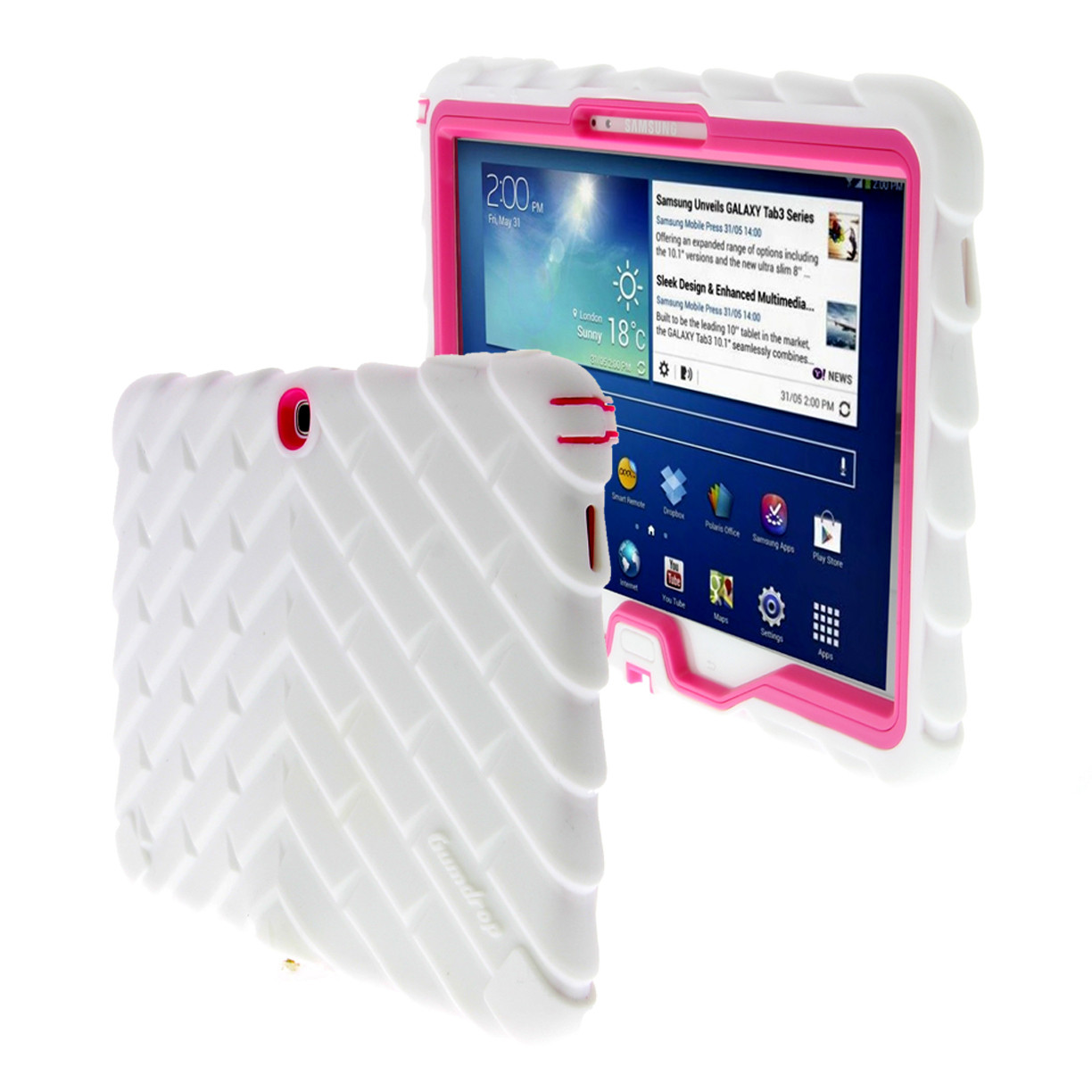 gumdrop cases droptech for samsung galaxy tab 3 10 rugged. Black Bedroom Furniture Sets. Home Design Ideas