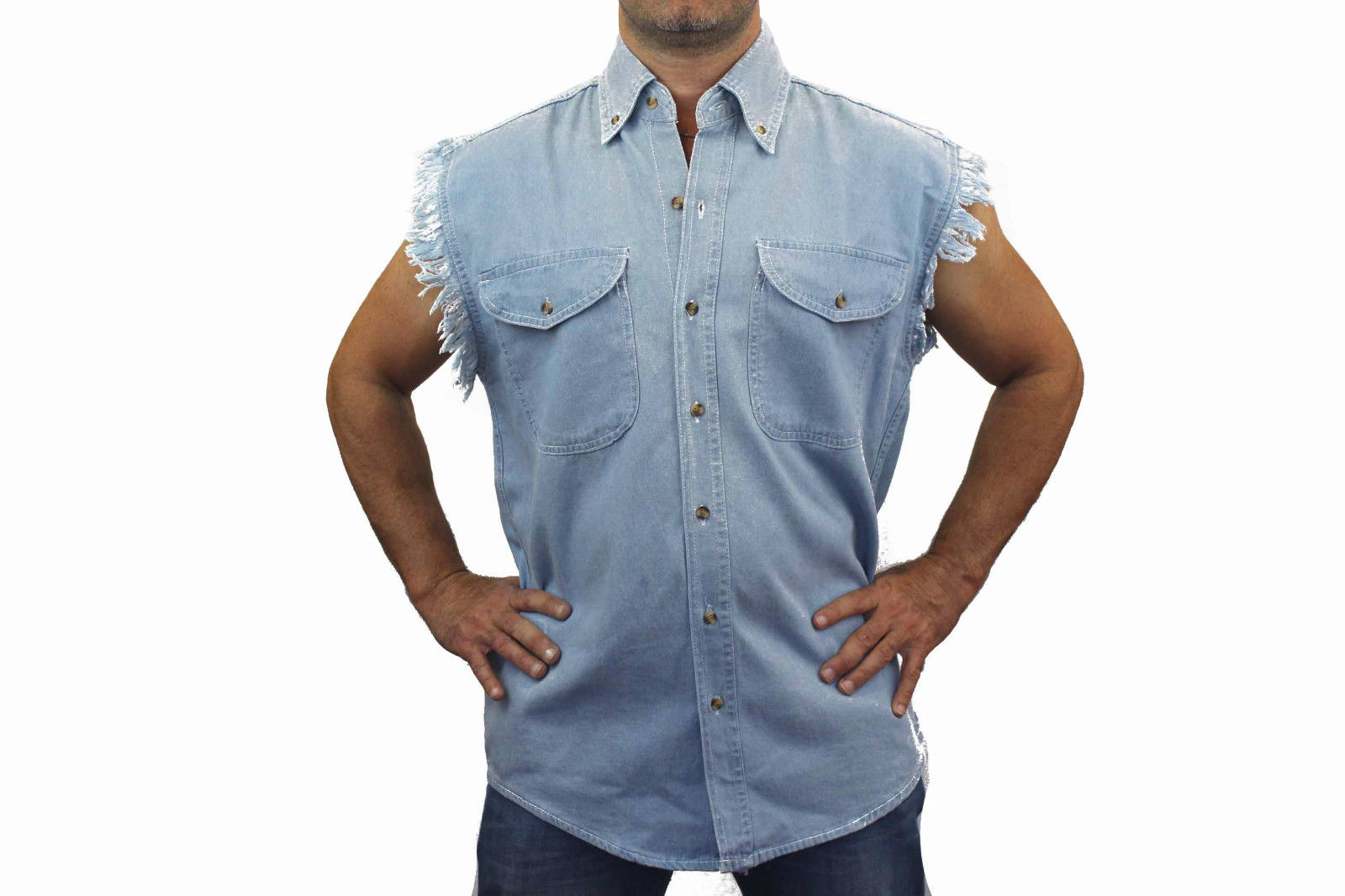14c01a4414d Sleeveless Denim Shirt Male – EDGE Engineering and Consulting Limited