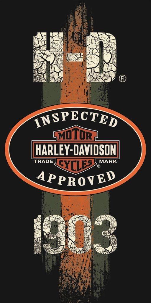 Serviette De Plage Harley Davidson.Details Sur Harley Davidson Serviette Bain Plage Motard Moto Inspectee Approuve