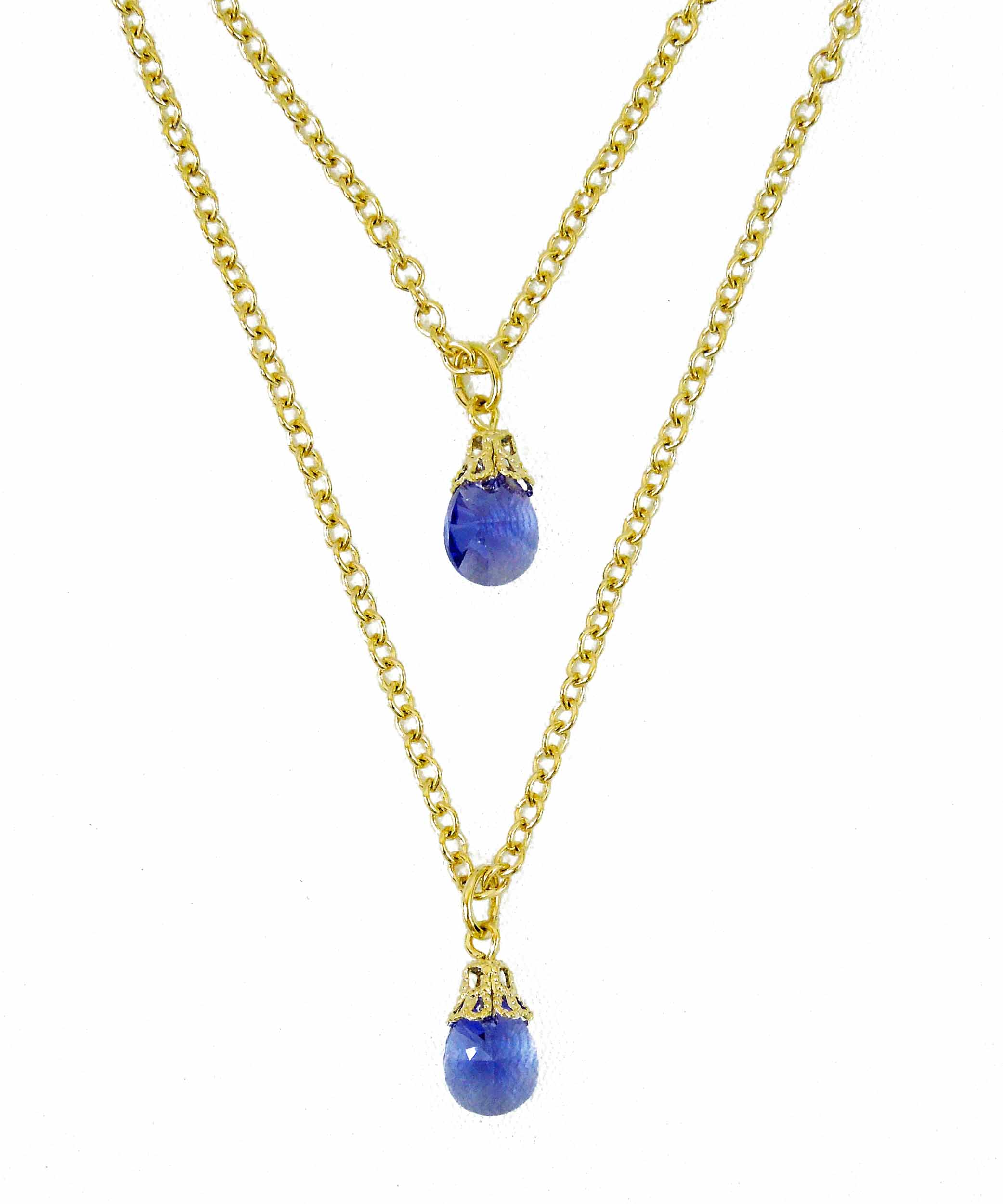 blue normal product necklace kimberly diamond tanzanite gallery lyst and mcdonald in jewelry