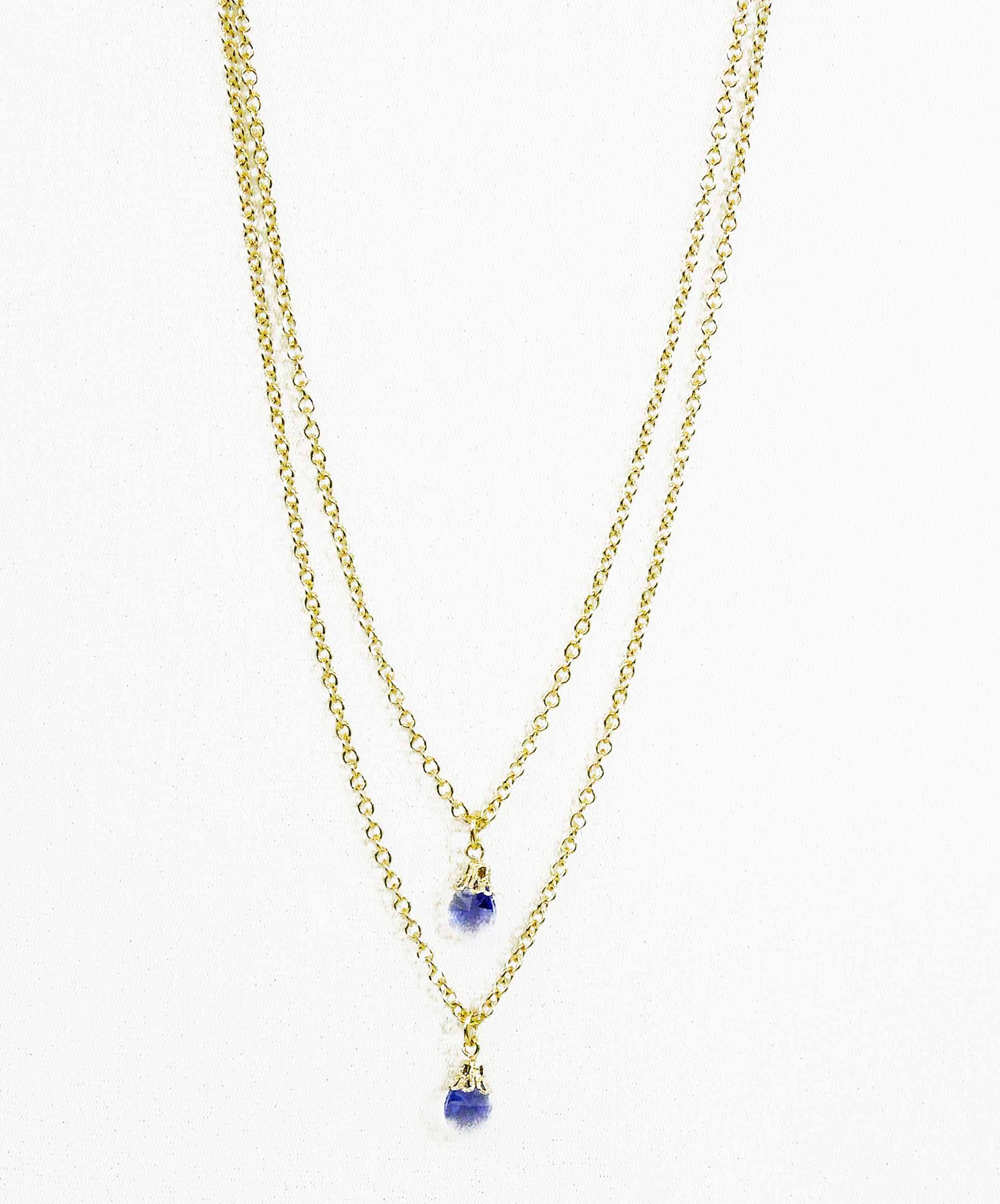gold pendant diamond tanzanite oval cluster white necklace