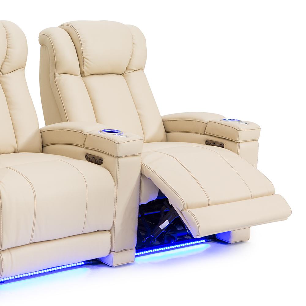 Seatcraft-Sierra-Leather-Power-Recline-Power-Headrest-Home-  sc 1 st  eBay & Seatcraft Sierra Leather Power Recline Power Headrest Home Theater ... islam-shia.org