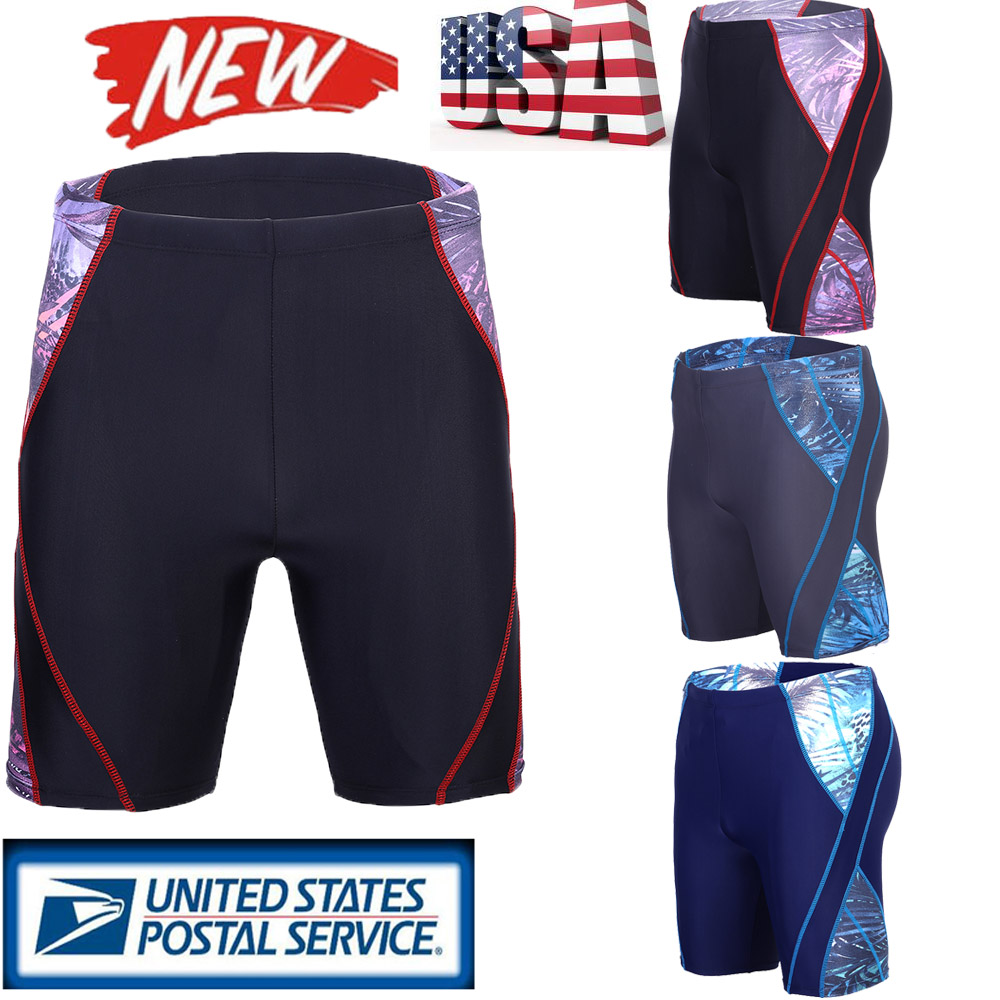 ab52f7baf6 Image is loading Men-Beach-Swim-Shorts-Swimwear-Swimming-Trunks-Underwear-