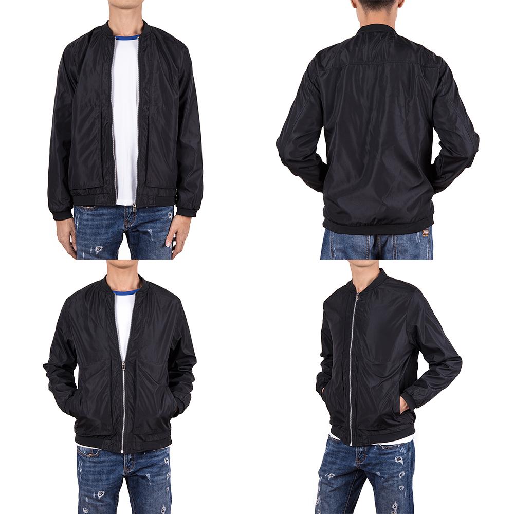 Men-039-s-Waterproof-Windbreaker-ZIPPER-Jacket-Hoodie-Light-Sports-Outwear-Coat-Gym thumbnail 24