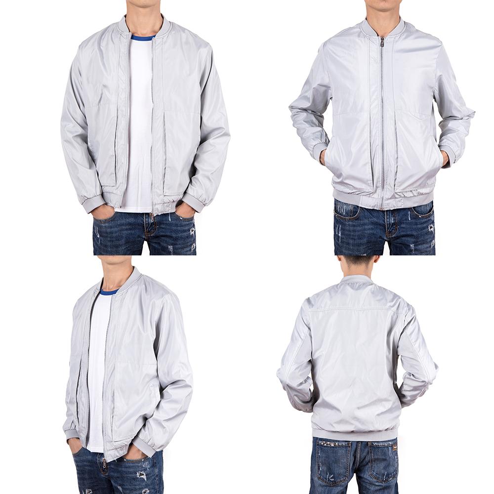 Men-039-s-Waterproof-Windbreaker-ZIPPER-Jacket-Hoodie-Light-Sports-Outwear-Coat-Gym thumbnail 28
