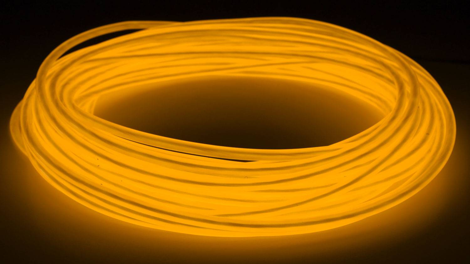 Details about GlowCity Portable Light Up 5mm 50ft El Wire Kit With Plug In  The Wall