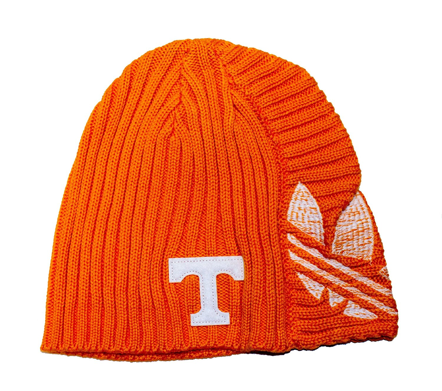 f1c06bb9d3f NCAA Licensed Tennessee Volunteers Orange Embroidered Knit Beanie Hat Cap  Lid
