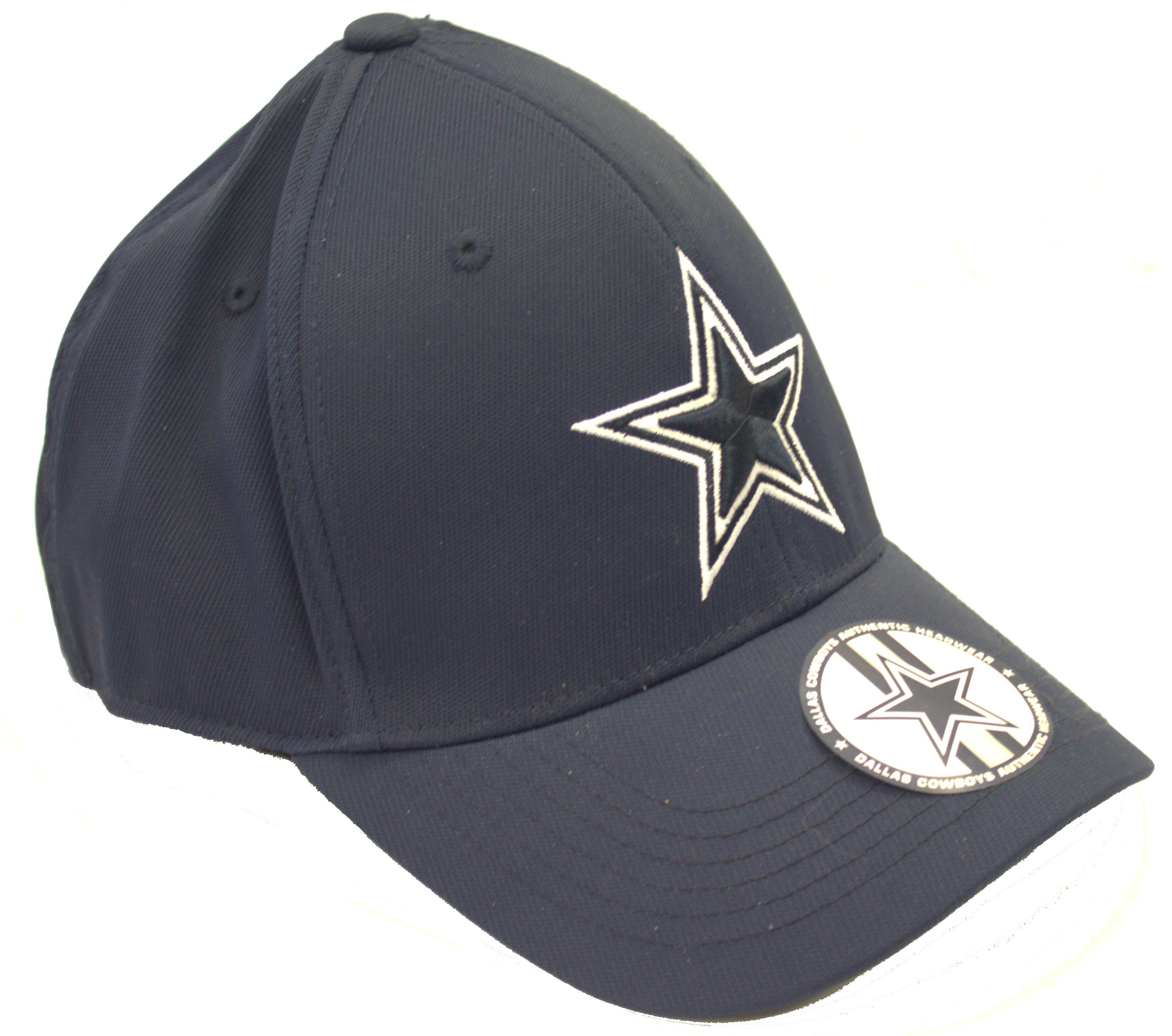 aa2c028f8a7af Dallas Cowboys Supreme Navy Flex fit Hat Cap Lid 687927669260