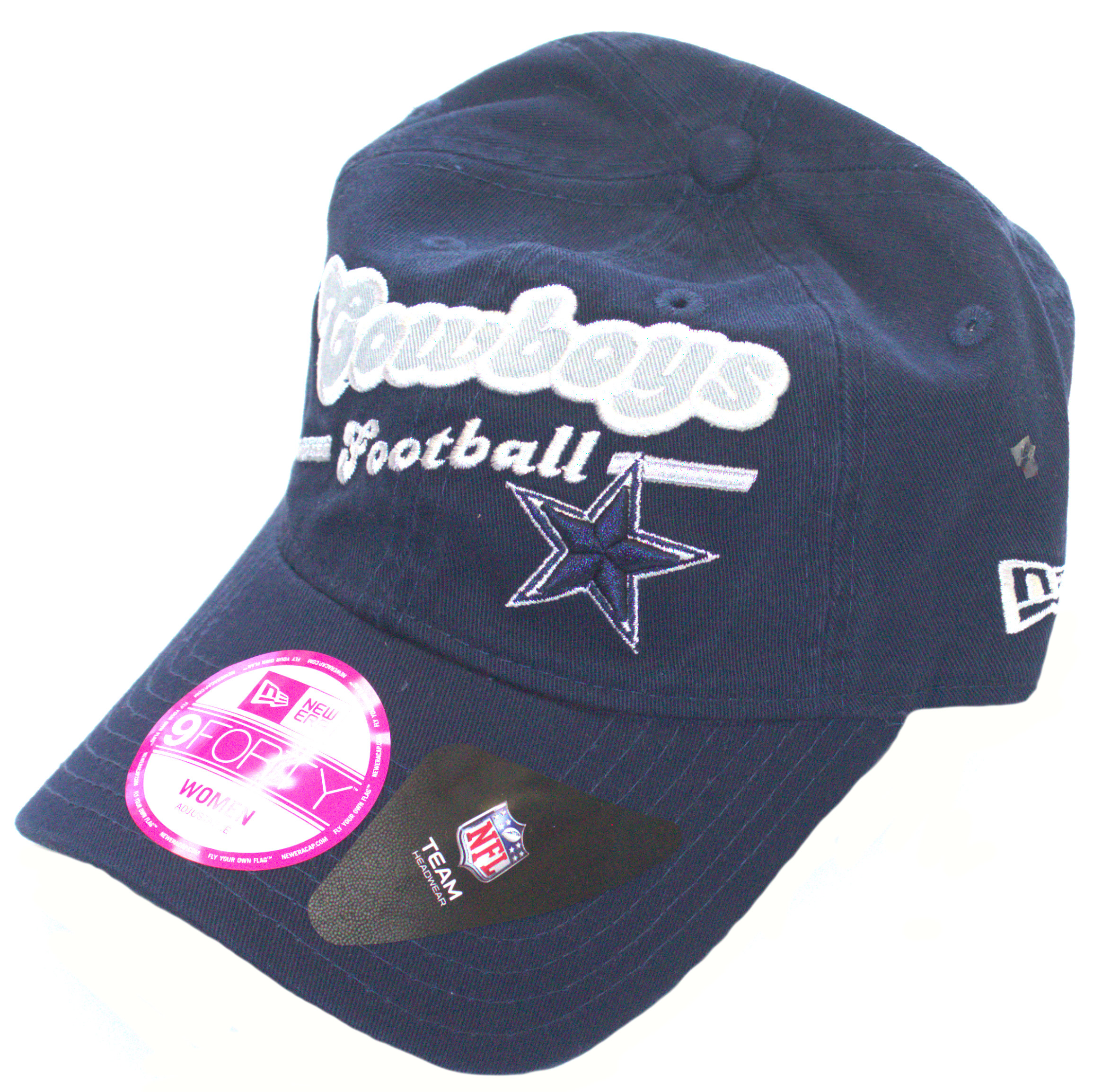 Dallas Cowboys 9Forty Womens Navy Slouch Adjustable Hat Cap Lid  f76b94bab