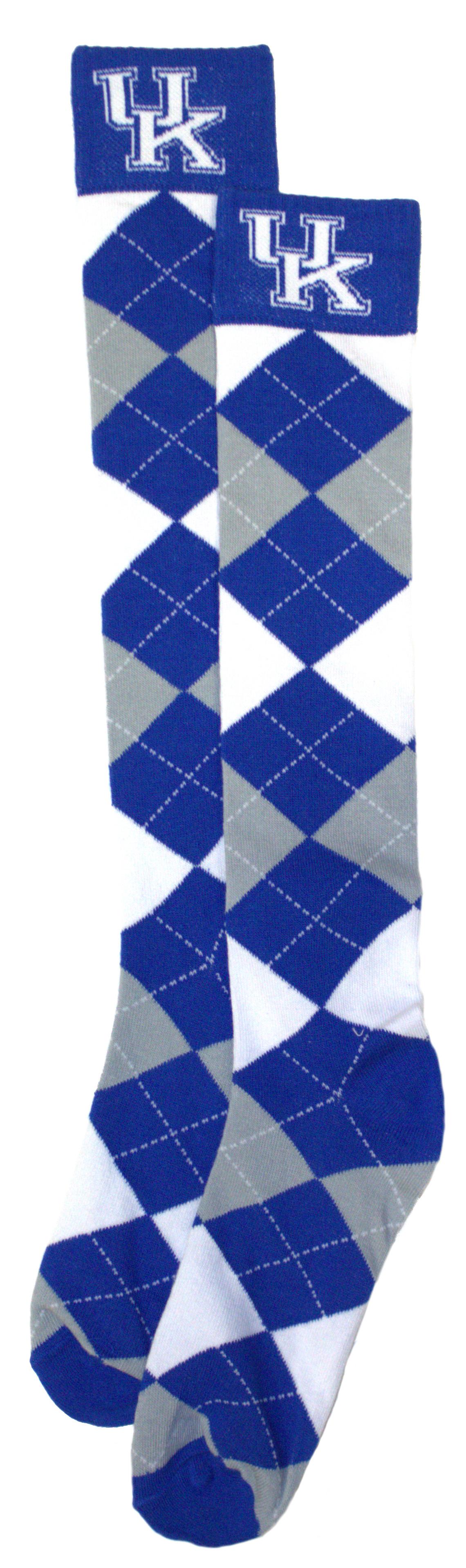 526c34cea62 Kentucky Wildcats Argyle Dress Socks 47977692388