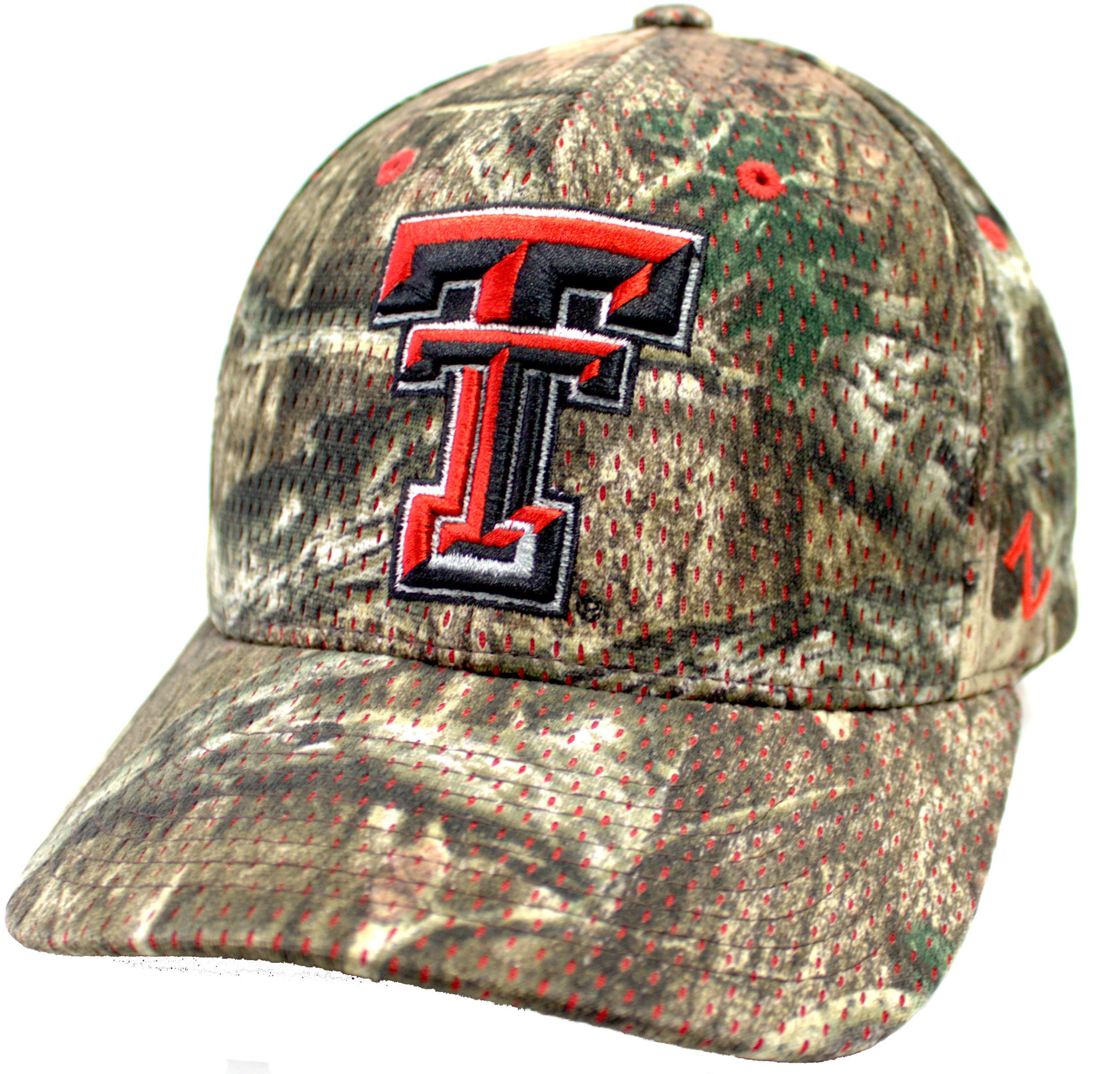62e78b53db7 ... cheapest texas tech red raiders mossy oak camouflage adjustable hat  be58c b12b3