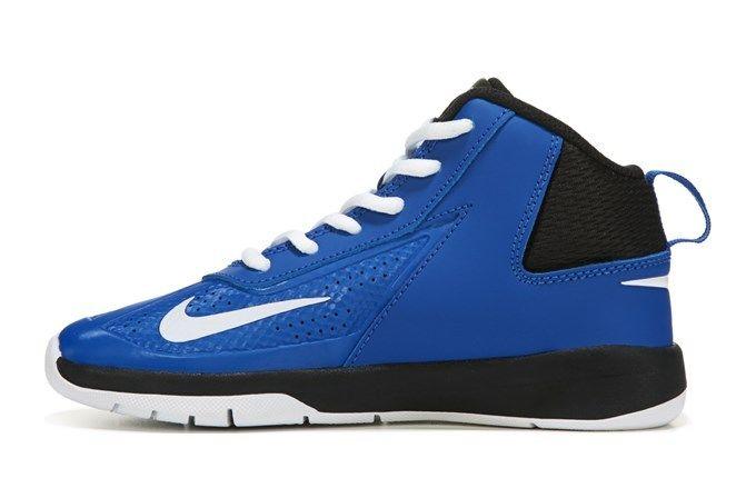0e45bcfd8ffc76 Nike Basketball Shoes Nike Boys Team Hustle D 5 Basketball Shoes ...