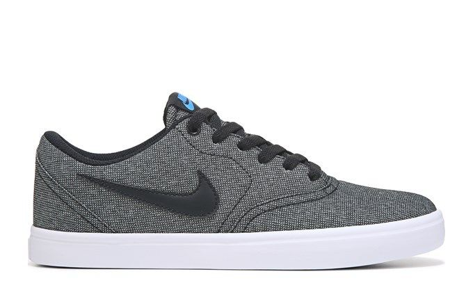 Men S Nike Sb Check Solar Canvas Skate Shoe