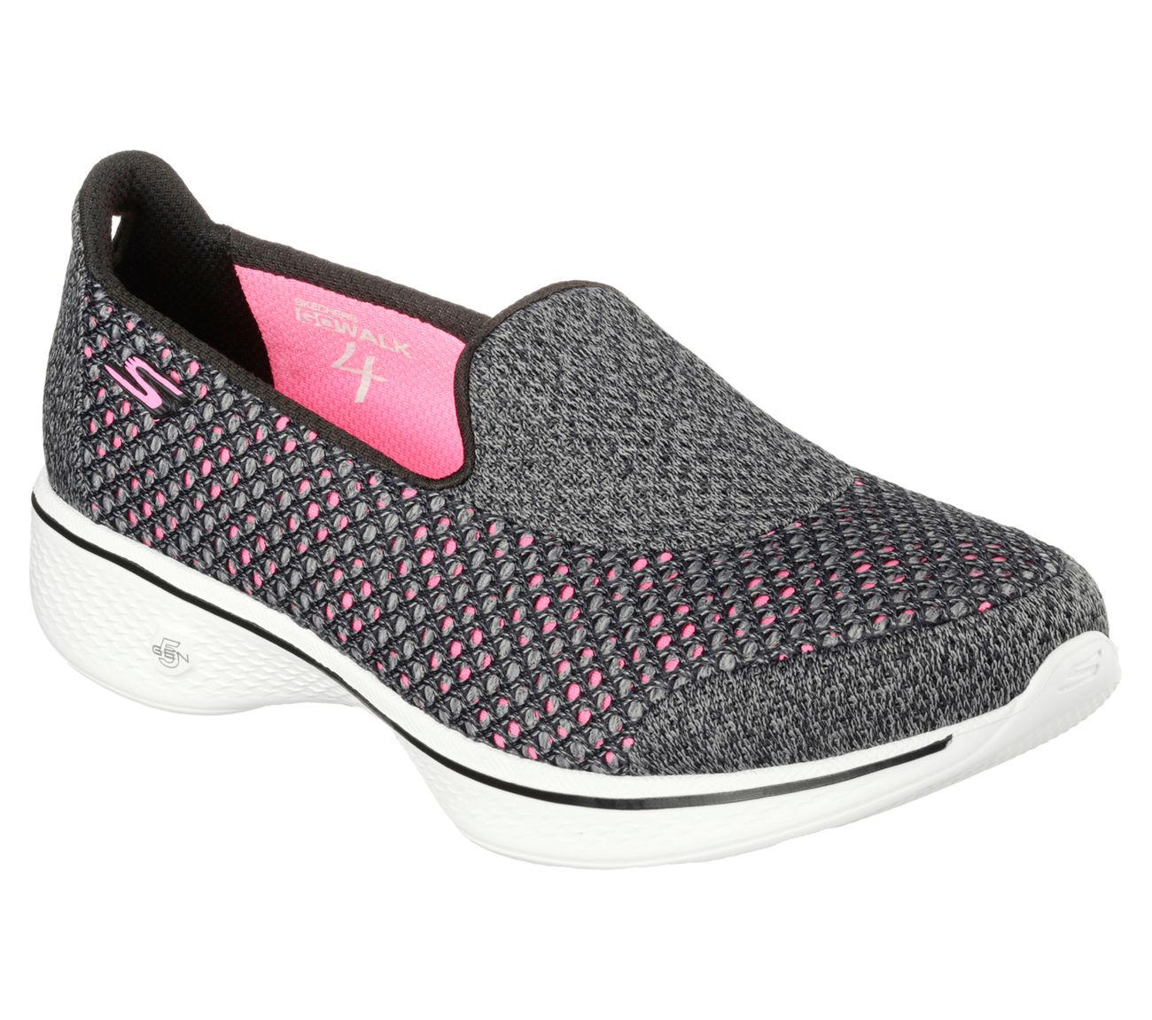 Skechers Women S Go Walk Shoes Black Size