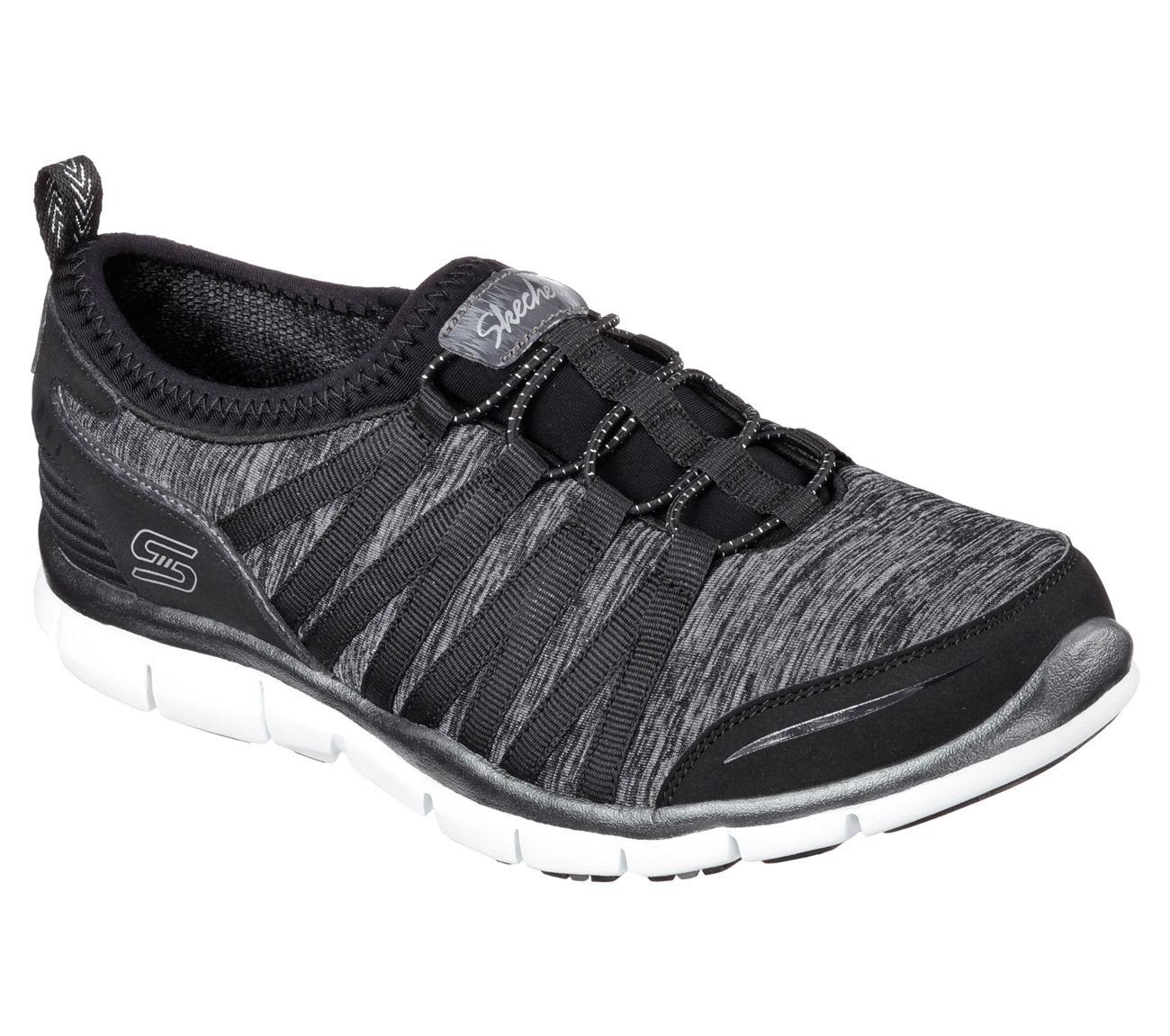 Women S Shake It Off Black Blue Athletic Shoe