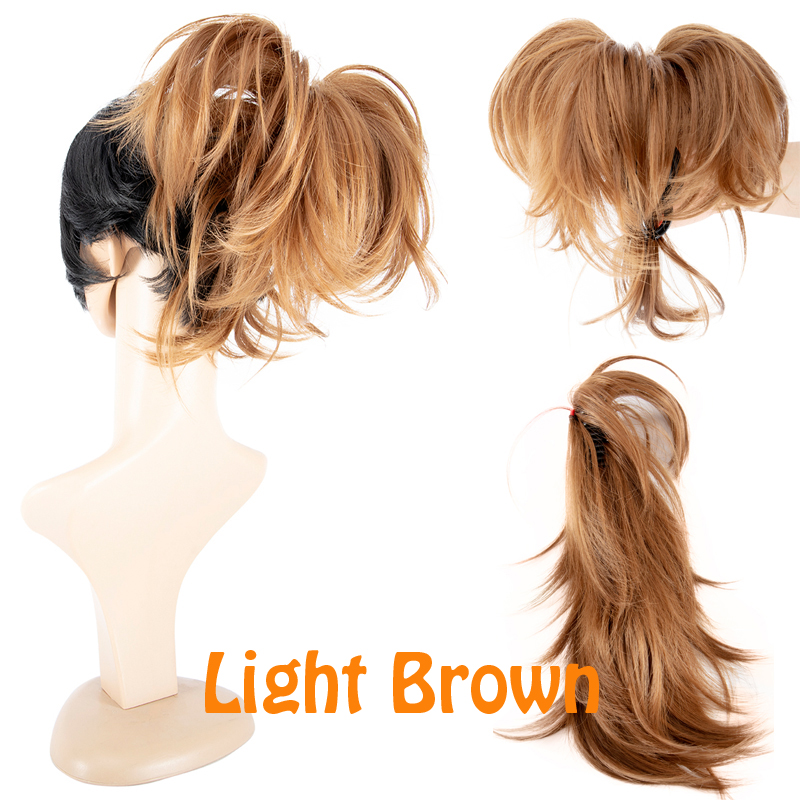 Us Local Claw Thick Ponytail Long Layered Ponytail No Clip In On