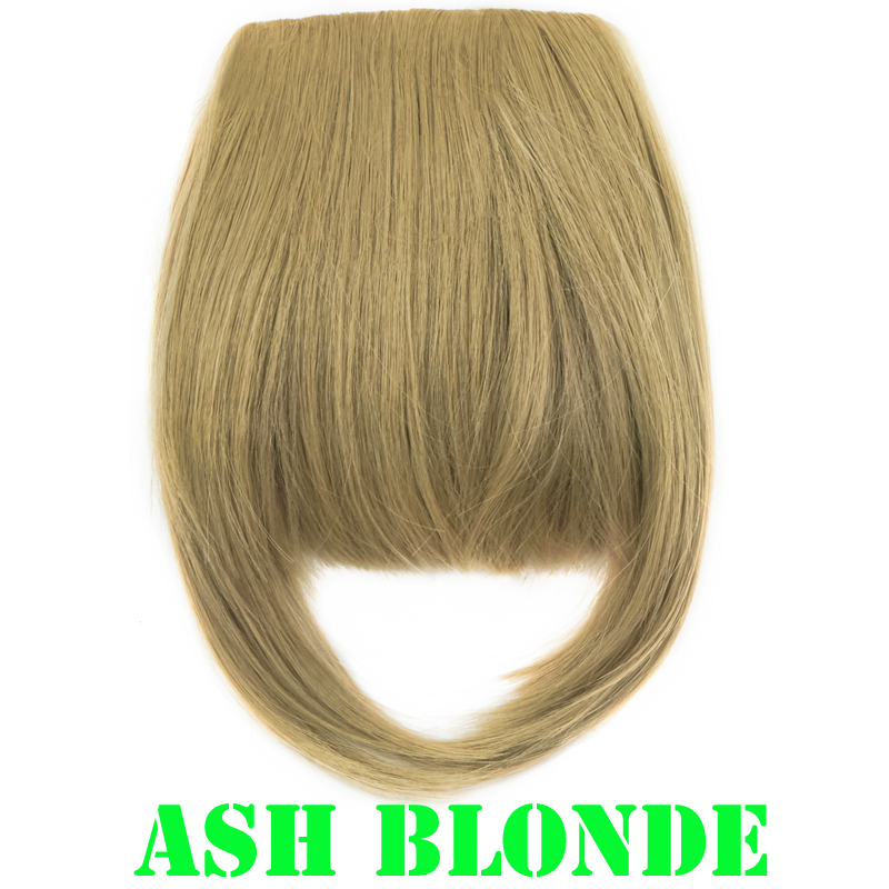 Local Women Synthetic Hair Bang Hairpiece Clip In Front Hair
