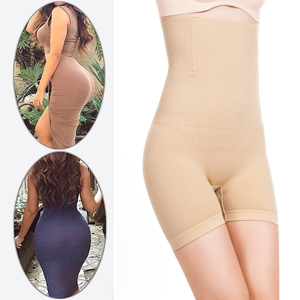 c84bde5d52 1. Size   XS S M L XL 2XL 3XL slimming Fat Compression Tummy cincher   High-waist  trainer Butt Lifter Control Pants Boyshort Women Wedding Party Evening ...