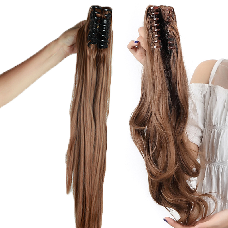 Real remy human hair extensions clip in ponytail jaw ponytail real remy human hair extensions clip in ponytail pmusecretfo Gallery