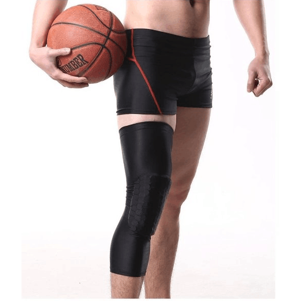 Knee Brace Compression Wrap Protector Gear Honey Comb Pad ...