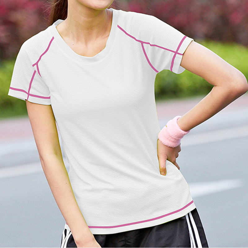 Women Mens Plain Fitness T Shirts Solid Short Sleeve Tee Top Gym Sport Running