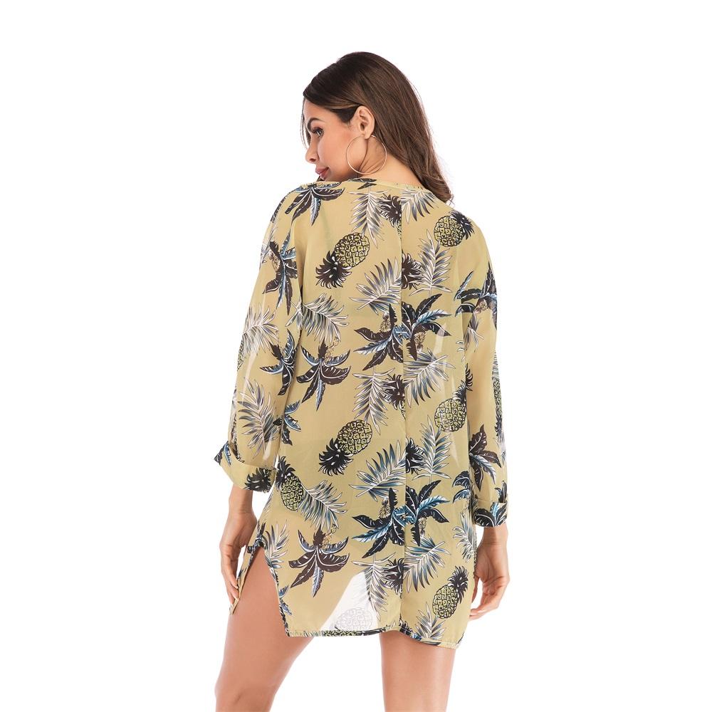 Fashion-Women-Loose-Blouse-Kimono-Cardigan-Tops-Summer-Bikini-Cover-Up-Wrap-Coat thumbnail 36