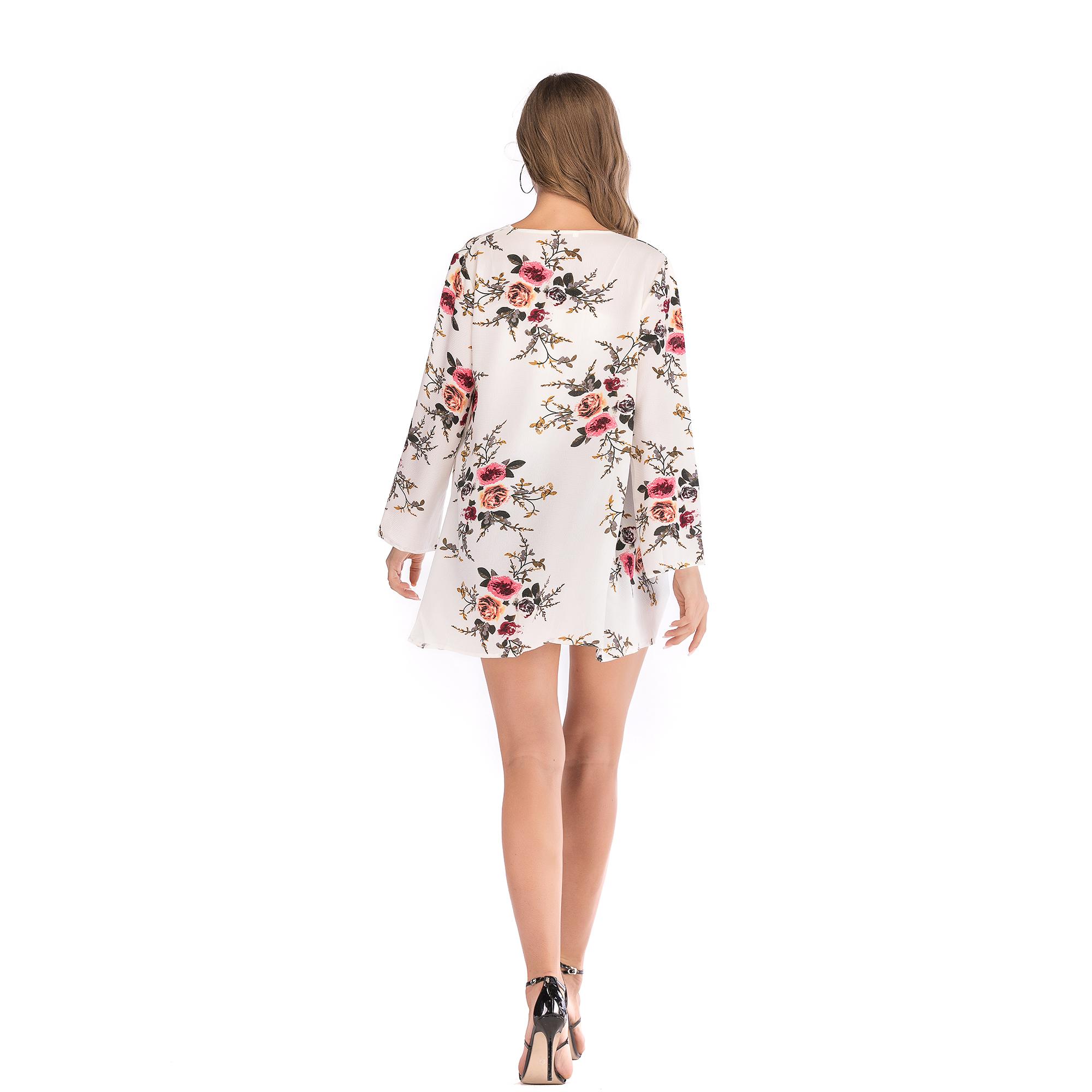 Fashion-Women-Loose-Blouse-Kimono-Cardigan-Tops-Summer-Bikini-Cover-Up-Wrap-Coat thumbnail 33