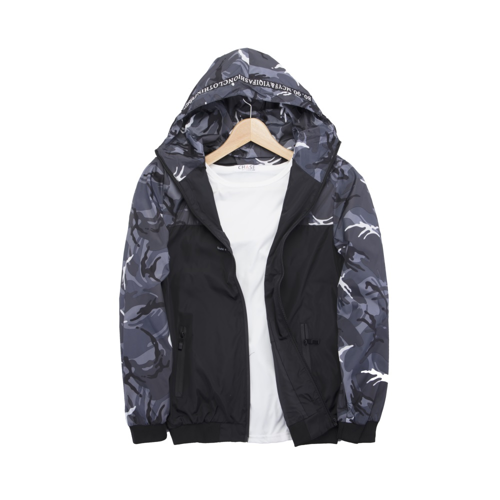 Men-Waterproof-Windbreaker-Zipper-Jacket-hoodie-Light-Sports-Outwear-Coat-Gym-NK thumbnail 7