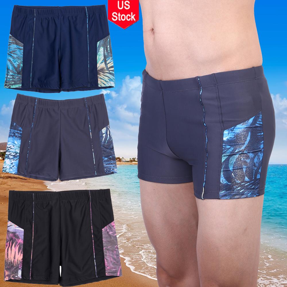 0cd73f9d5f Men's Boxer Briefs Swimming Swim Shorts Trunks Swimwear Beach Pants ...