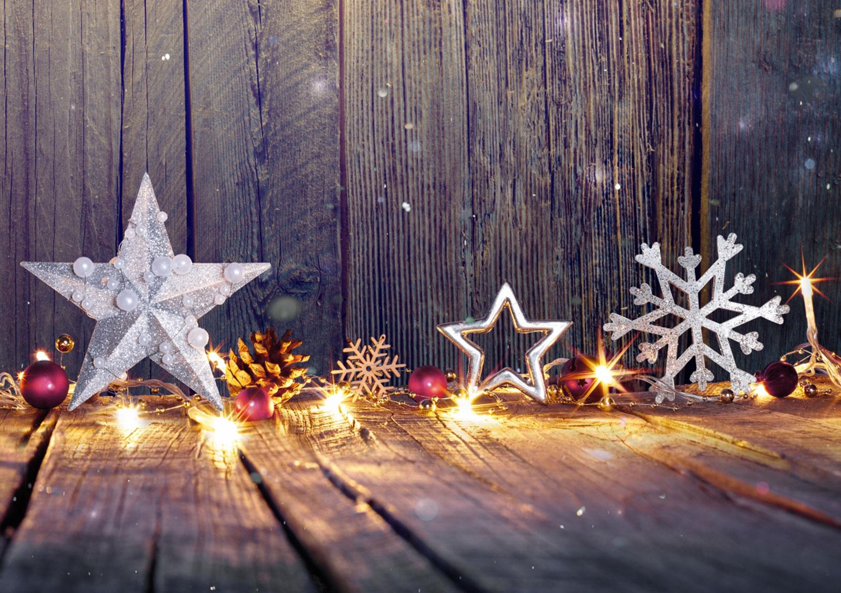 Christmas Light Golden Child Photo Backgrounds Board Vinyl