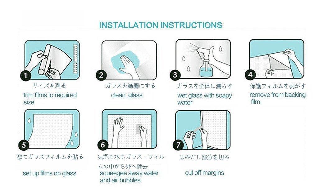 Bathroom Doors Waterproof: Waterproof Glass Frosted Home Bathroom Door Window Privacy