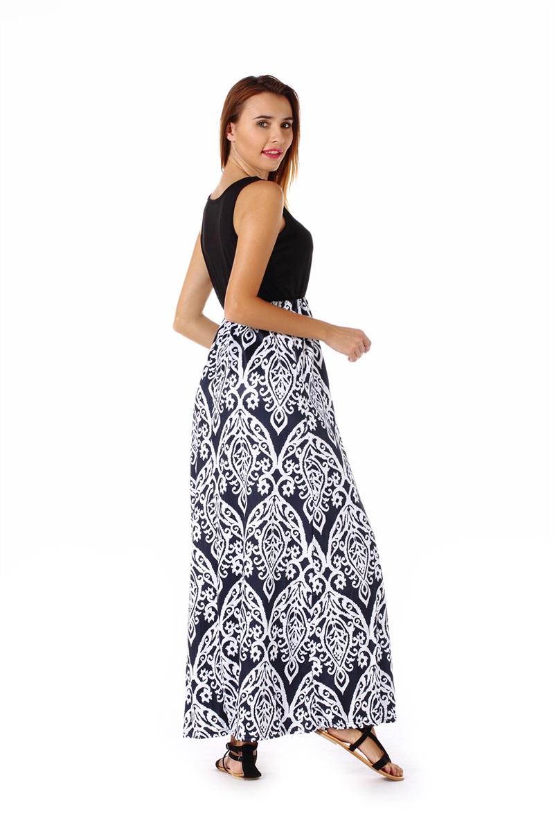 Women-039-s-Floral-Maxi-Dress-Hawaii-Evening-Party-Summer-Beach-Casual-Long-Sundress thumbnail 7
