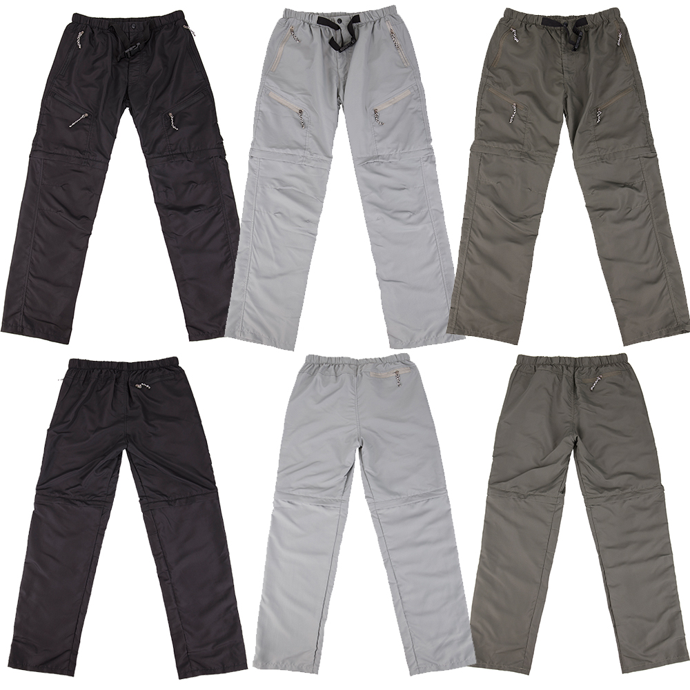 US-MENS-CONVERTIBLE-PANTS-QUICK-DRY-ZIP-OFF-SHORTS-OUTDOOR-HIKING-TROUSERS-S-3XL thumbnail 5